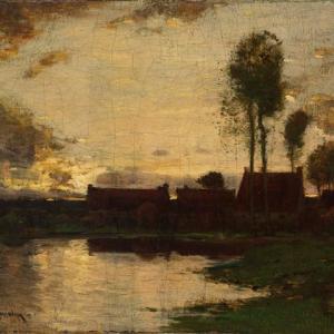 「空気と大地の画家」John Francis Murphyの絵画