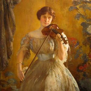 「アメリカの印象派画家」ジョセフ・デキャンプ(Joseph DeCamp)の絵画