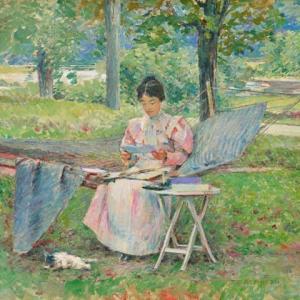 「印象派画家」セオドア・ロビンソン(Theodore Robinson)の絵画