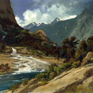 「風景画家」ウィリアム・キース(William Keith)の絵画