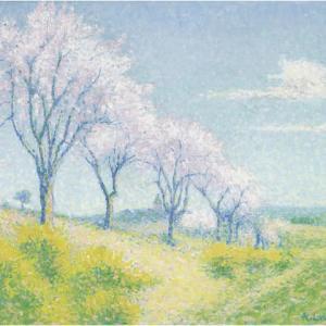 「新印象派の画家」アシール・ロージェ(Achille Laugé)の絵画