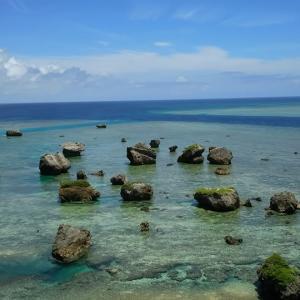 宮古島の東平安名岬とマンゴーパフェ(沖縄離島の宮古諸島の宮古島)