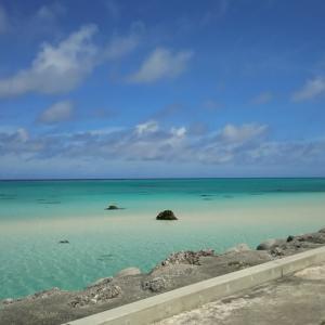 快晴の下地島の海と池間島でシュノーケル(沖縄離島の宮古諸島の下地島と池間島)