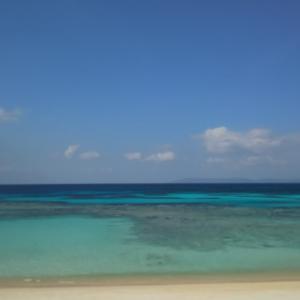 日本最南端の有人島の波照間島のニシ浜と散歩(沖縄離島の八重山諸島の波照間島)