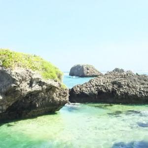 神の島の大神島と宮古島の民宿の最後の夜(沖縄の宮古諸島の大神島と宮古島)