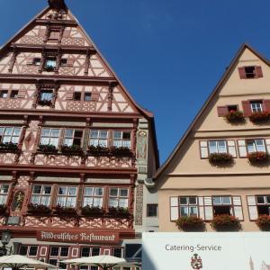 【絵本にでてるみたいな家】ドイツのローテンブルグのかわいい街並みでお買い物(ドイツ)
