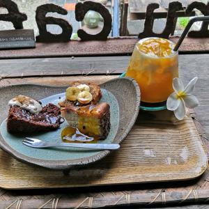 日本でいちばん南にあるカフェでティータイム(沖縄離島の八重山諸島の波照間島)