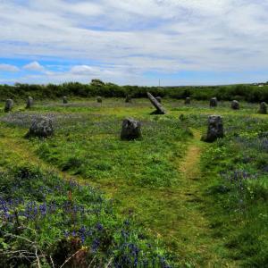 コーンウォールのパワースポットのボスカーウェン・ウン遺跡【一年前のひと月のイギリス旅・27】