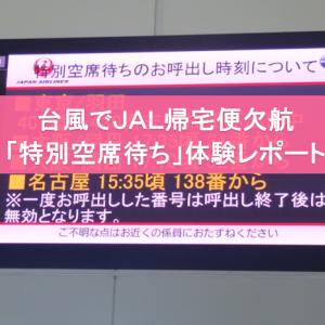 【JAL帰宅便が台風で欠航】特別空席待ち体験レポート
