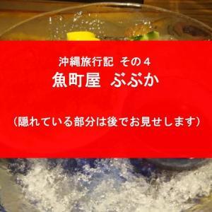 【GTの沖縄旅行記 その4】魚町屋ぶぶか&酔っ払いGT