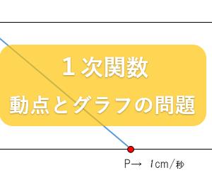 【中2数学 1次関数 指導案】動点とグラフのわかりやすい授業