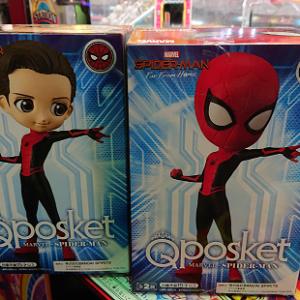 Qposket スパイダーマン。