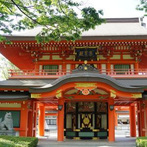 千葉神社は星や動物と関係が深く、御社殿は珍しい2階建て!駅から15分で境内も回りやすい!