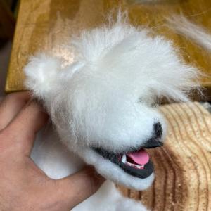 羊毛フェルトの佐吉 4 植毛頭