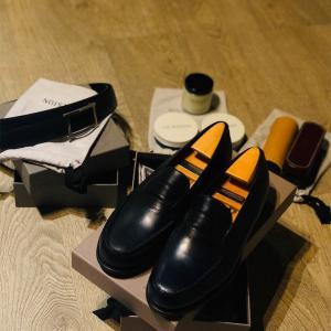 革靴のトップブランド!本場【J.M .Weston】でローファーを買う✨