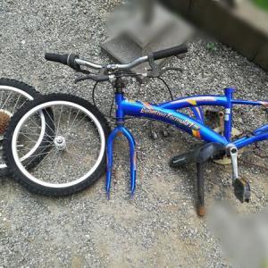 【DIY】不要な自転車 バラバラにしてやりました