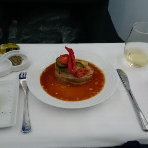 ANAアップグレードポイントを使ってビジネスクラスに搭乗。NH209(成田→デュッセルドルフ)搭乗記
