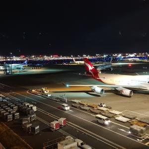 羽田深夜便でシンガポールへ。NH843エコノミークラス搭乗記
