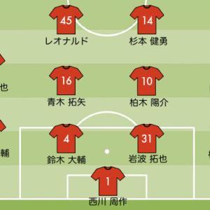 J1リーグ 第1節 浦和レッズのスタメン予想【vs 湘南】