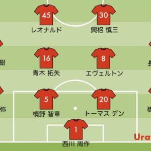 次節浦和レッズの予想スタメン【vs 札幌 J1リーグ2020】