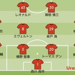 次節の浦和レッズの予想スタメン【J1リーグ2020 第29節 vs FC東京】