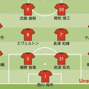 次節の浦和レッズの予想スタメン【vs セレッソ大阪 J1リーグ2020第24節】