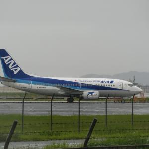運航終了前日のスーパードルフィン@福岡空港