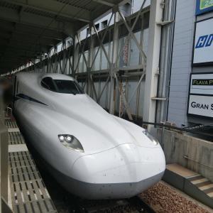 N700S 一番列車「のぞみ1号」@博多