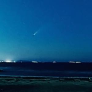 ネオワイズ彗星観測