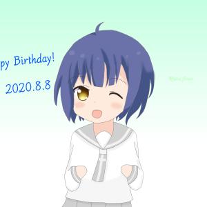 マヤちゃん誕生日2020(お絵かき)