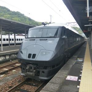 佐伯→延岡 787系臨時快速乗車記