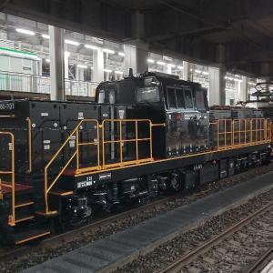 JR九州向けDD200-701甲種輸送@博多