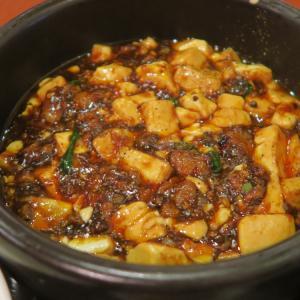 月寒中央 中国旬菜房 幸月 四川麻婆豆富定食