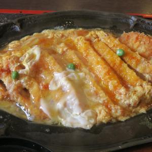 学園前 きそば 札幌小がね 室蘭流かつ丼はかつが別皿