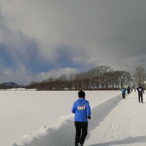 第6回 北海道スノーマラソン マイコースを楽しんで走りました