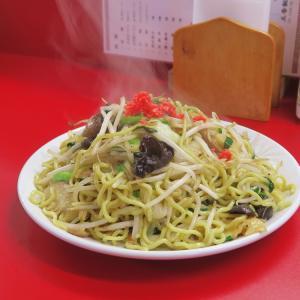 小樽 五香飯店 炒麺 あんかけではなく、いためヤキソバ
