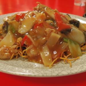 中華料理 香州 五目揚げメン