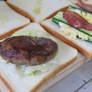 テレワークランチ日記04 たまにはサンドイッチなんぞ
