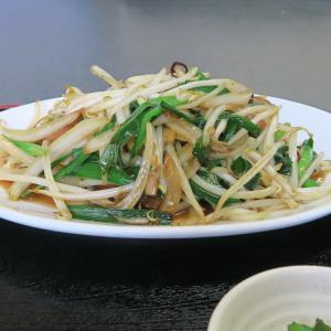 中国料理 布袋 レバニラ炒め定食
