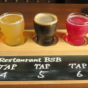 美深にビールを飲みに行く旅 レストランBSB 美深白樺ビール飲み比べ