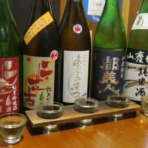 新得 壱杯家 充実の日本酒がウレシー!