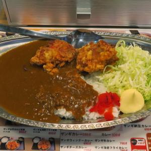 札幌駅北口 札幌ザンギ本舗 ザンギカレーに目玉焼きトッピング!