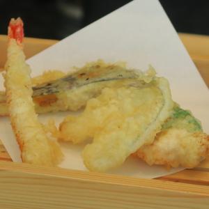 大同生命ビルmiredo 天ぷら弥平 ランチの弥平天ぷらセット TKGを楽しむ