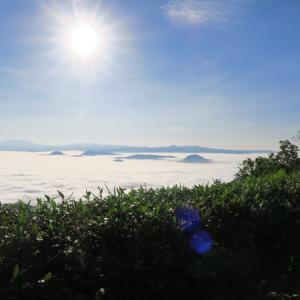 屈斜路湖 美幌峠・津別峠からの雲海・藻琴峠の三景に摩周湖!