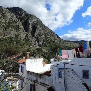 モロッコ、青の街の空気を感じた朝。