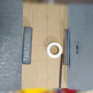 犬山橋風モジュールを作る⑤ ベースと橋脚(Nゲージ)