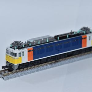 KATO EF81カシオペア色入線(鉄道模型Nゲージ)