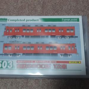 グリーンマックス 30503 名鉄6800系 1次車 入線と整備【鉄道模型Nゲージ】