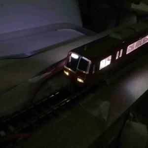 グリーンマックス 名鉄5300系 標識灯・方向幕の点灯化 【鉄道模型・Nゲージ】