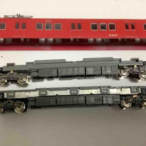 グリーンマックス名鉄6000系列のトレーラ編成の動力化【鉄道模型 Nゲージ】